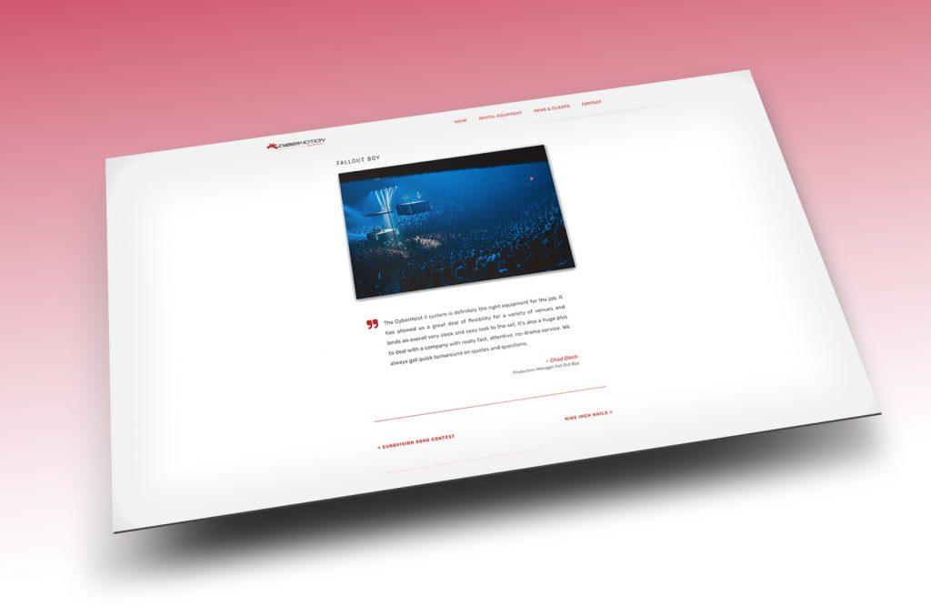 Website Sample 01