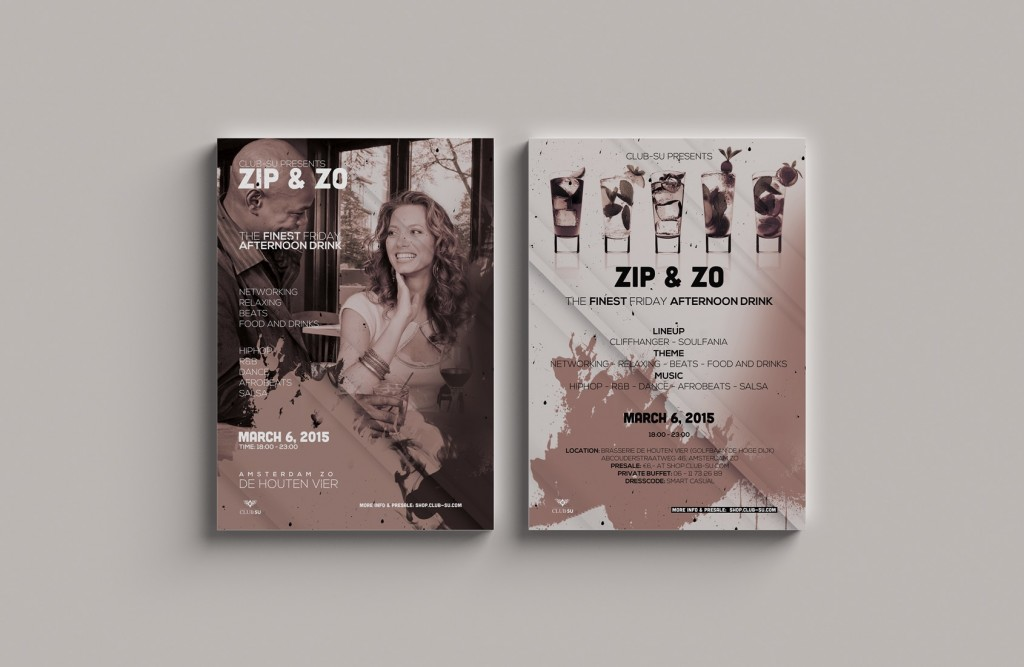 Flyer 1e Editie
